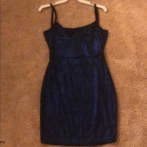 Pretty Little Thing Glitter Metallic Bodycon Dress